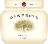 2016 Oak Grove <em>Family <em>Reserve</em> </em> Merlot