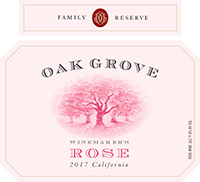 2017 Oak Grove <em>Family <em>Reserve</em> </em> Winemaker's Rose