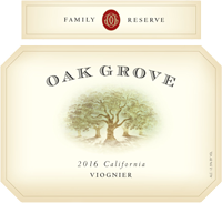 2016 Oak Grove <em>Family <em>Reserve</em> </em> Viognier